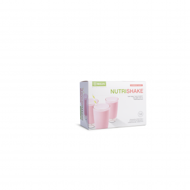 """Nutrishake"", protein drink, chocolate, strawberry and vanilla taste neolife 4"