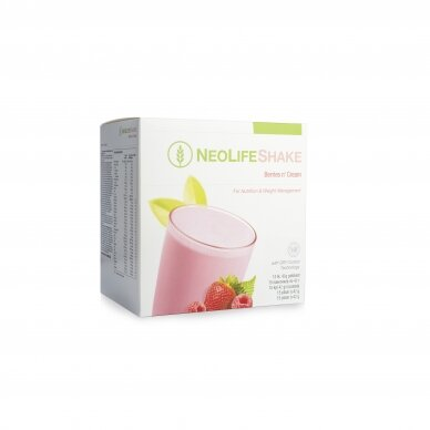 NeoLifeshake, protein drink - food substitute, berry and cream, chocolate and vanilla flavors 3