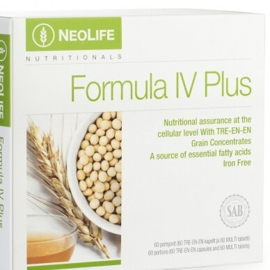 """Formula IV Plus"" Polivitamin and Minerals Supplement Neolife"
