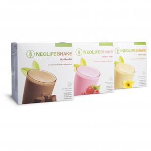 """""""NeoLifeShake"""", baltyminis gėrimas - maisto pakaitalas, uogų ir grietinėlės, šokolado ir vanilės skonių"""