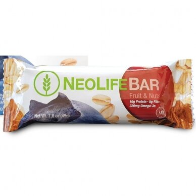 NeoLifebar, the snack of the fruit and nuts