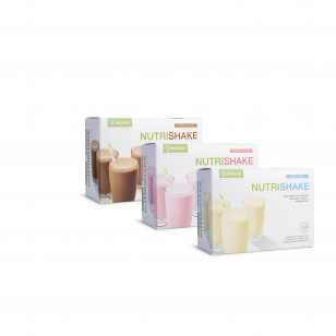 """""""NutriShake"""", baltyminis gėrimas, šokolado, braškių ir vanilės skonio Neolife"""