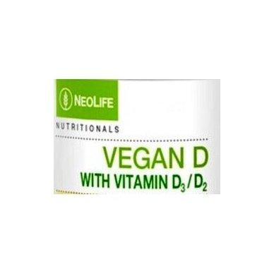 Vegan D, vitamino D maisto papildas Neolife